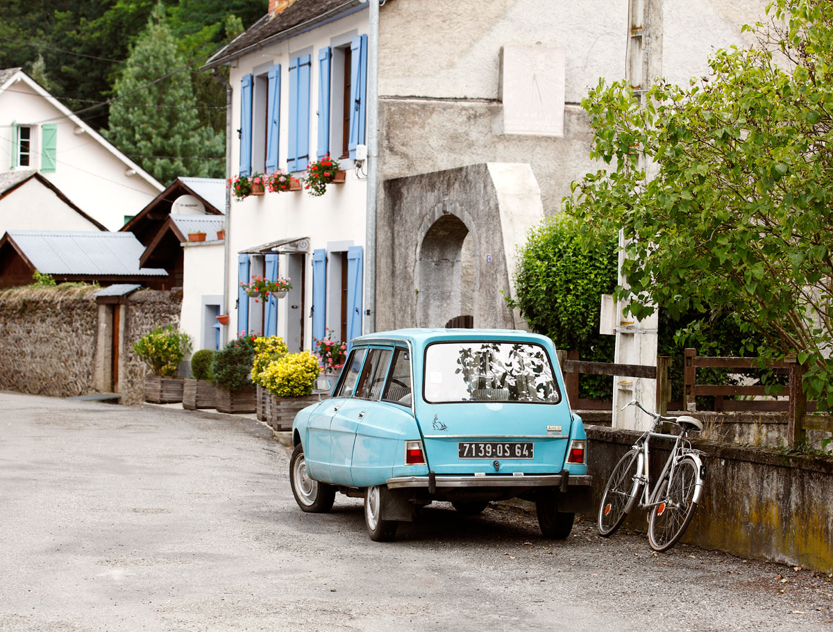 French village, Pyrenees