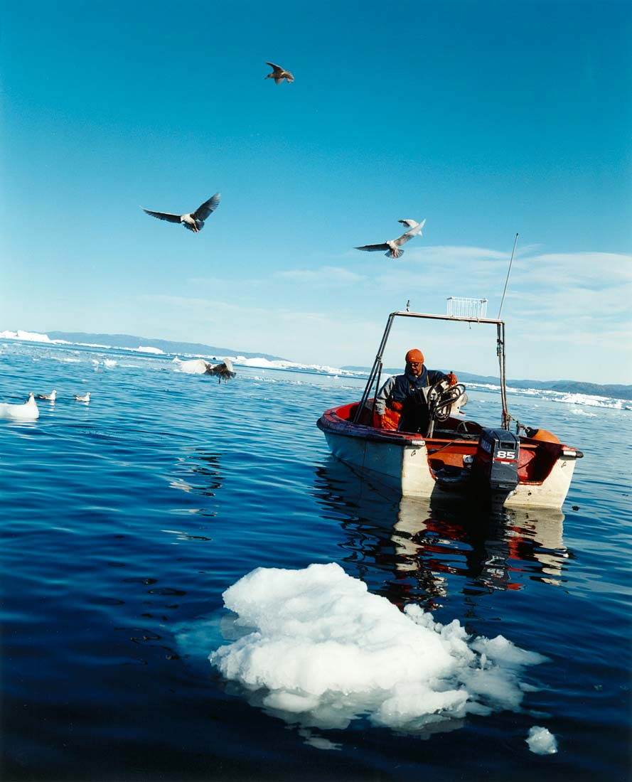 Fishing in Disko Bay
