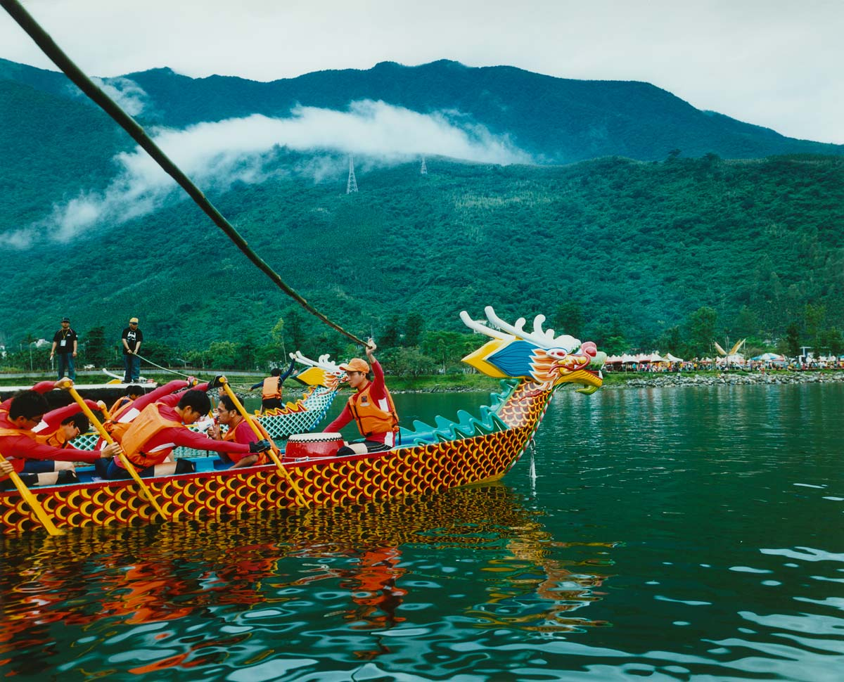 Dragon boat racing, Liyu, Taiwan