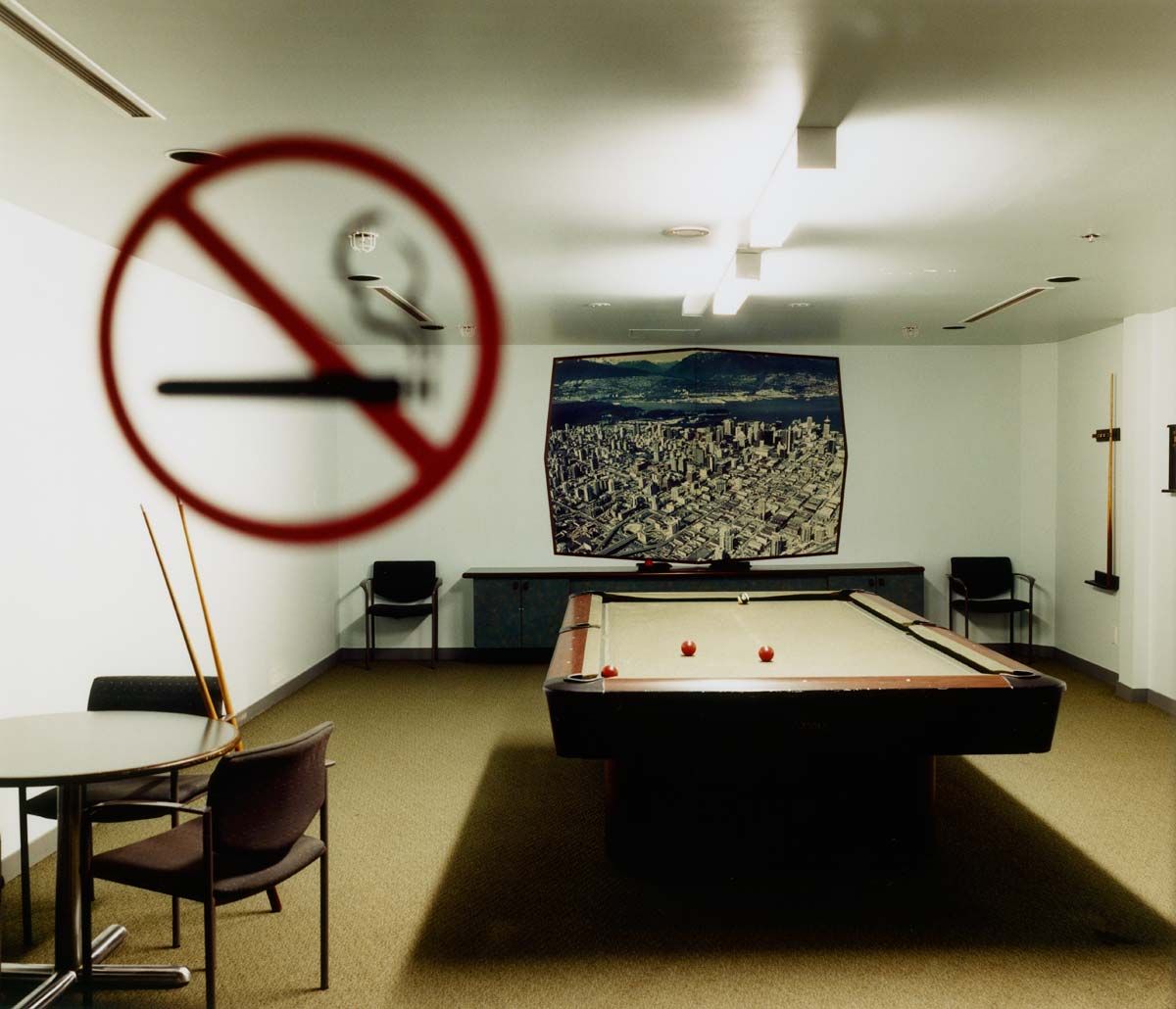 Pool Table, Vancouver, Canada