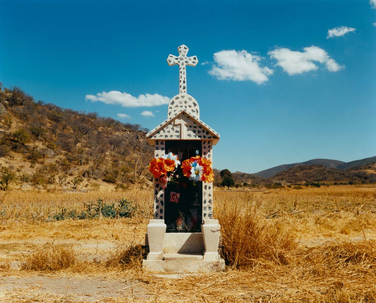 On the road to Oaxaca, Mexico