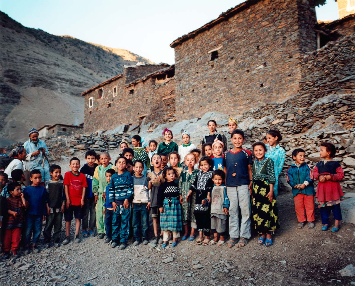 Village Children, Atlas Mountains